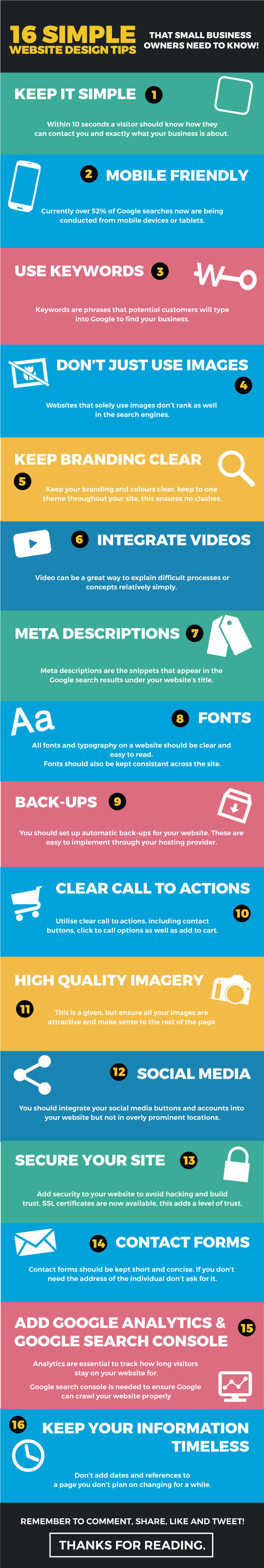 16 Web Design Tips