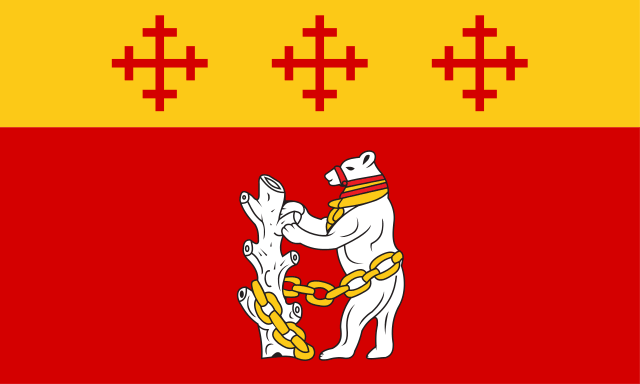 County Flag of Warwickshire