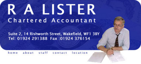 R A Lister Chartered Accountant