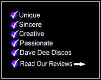 DAVE DEE:  Professional Mobile Disco Hire ... All Occasions