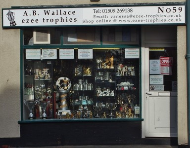 A  B  Wallace Trophies & Engraving, Leicester | Trophies & Medals